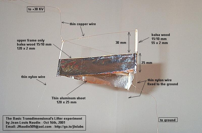 Icestuff Com The Basic High Voltage Transdimensional S Lifter Experiment By Jl Naudin From The