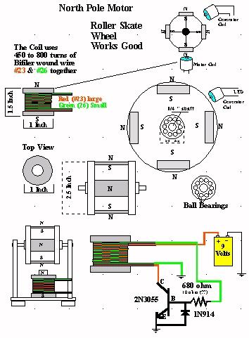 12 wire generator diagram 12 volt generator wiring diagram vw bedini motor test 5 day motor run on 9vdc battery science