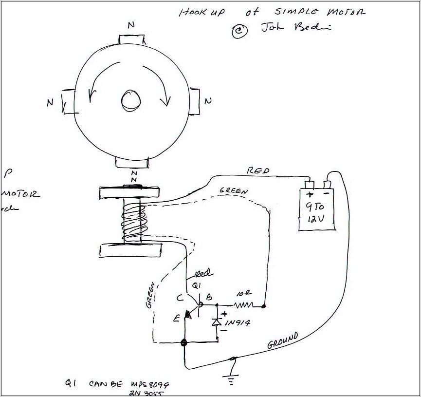 bedini motor test 5 day motor run on 9vdc battery science  4 dual pole bedini motor by darcy